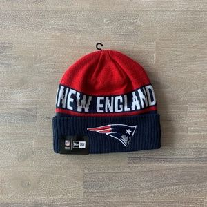 NEW ERA NFL NEW ENGLAND PATRIOTS CHILLED BEANIE